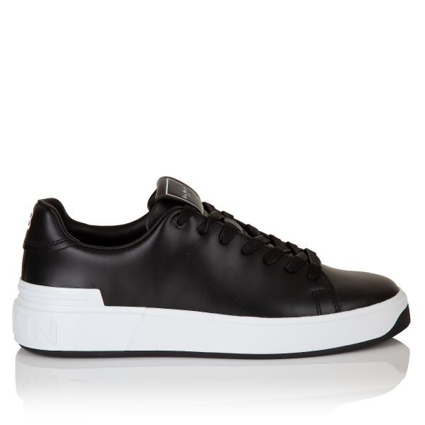 Balmain B-Court Low Top Sneakers
