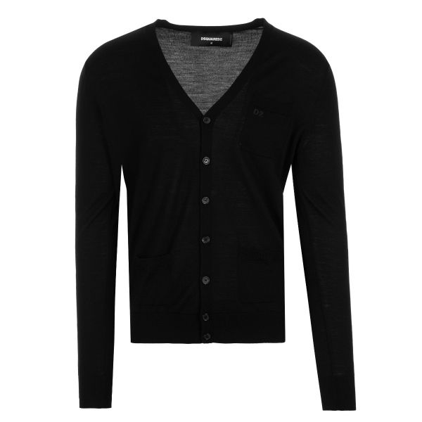 DSquared2 Embroidered Logo Cardigan Knitwear