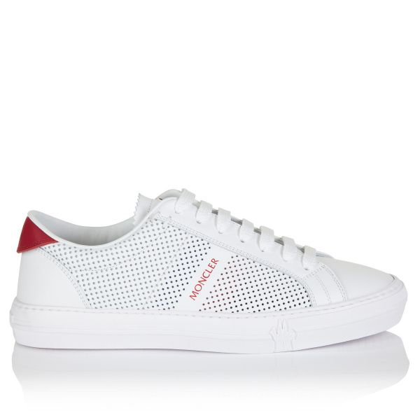 Moncler New Monaco Perforated Logo Sneakers